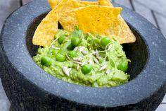 NYT Cooking: Green Pea Guacamole