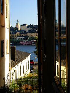 View towards Södermalm - Stockholm