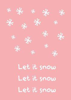Let it snow Shabby Chic Christmas, Little Christmas, Christmas And New Year, Winter Christmas, Christmas Time, Christmas Cards, Xmas, Christmas Collage, Christmas Ideas