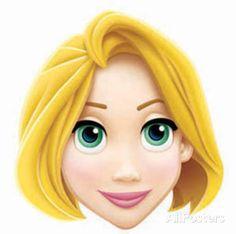 Rapunzel Face Mask Novelty - AllPosters.co.uk