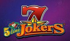 5 Line Jokers Fruit gyümölcsös nyerőgép