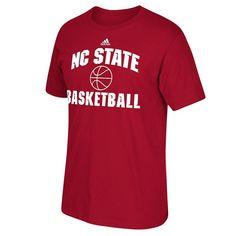 Men's Adidas North Carolina State Wolfpack Basketball Tee, Size: