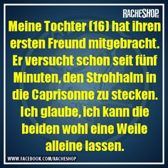 Vertrauen ist gut, Kontrolle ist besser! #fun #geklautbeiracheshop #Racheshop Mehr The Words, German Quotes, Funny Memes, Jokes, Adult Fun, Tabu, Man Humor, Funny Cute, Funny Posts