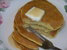 Yummy Low Carb Oat Fiber Buttermilk Pancakes