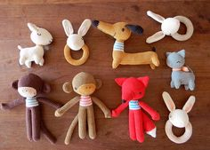 Amazing collection of handmade goodness by pica - pau. Spot the dachshund?
