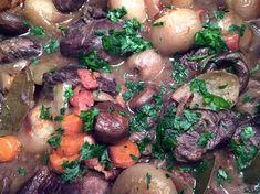 Pot Roast, Bacon, Ethnic Recipes, Food, Gray, Mushroom, Carne Asada, Roast Beef, Essen