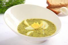 Przepis na Zupa szczawiowa Sorrel Soup, Polish Recipes, Polish Food, Greek Recipes, Summer Recipes, Hummus, Mashed Potatoes, Favorite Recipes, Dishes