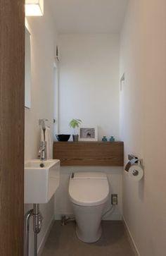Space Saving Toilet Design for Small Bathroom - Home to Z Small Bathroom Interior, Small Bathroom Sinks, Bathroom Toilets, Bathroom Design Small, Bathroom Ideas, Space Saving Toilet, Small Toilet Room, New Toilet, Handicap Toilet