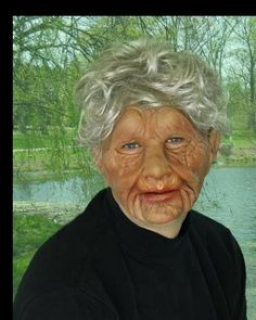 The super soft latex on this old woman mask conforms to your face for a natural, realistic look. Going as a group? Check out our other Super Soft Old People masks!