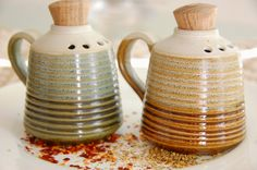 Spice shakers from https://www.facebook.com/BohemianWeaves