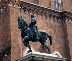 Bartolomeo Colleoni de Verrocchio