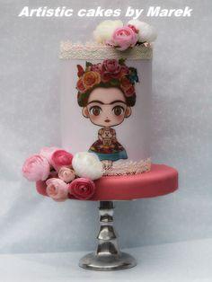 Frida b'day cake by Marek
