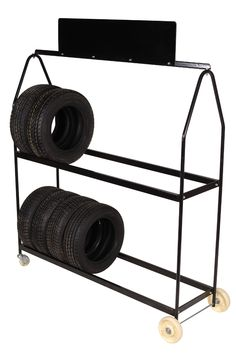 Rolling Tire Storage Rack Prepossessing Rolling Tire Storage Rack  Pinterest  Tire Rack Storage Rack And