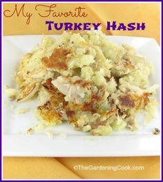 My Favorite turkey and potato hash