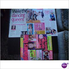 ABBA Mamma Mia! - Were The Dancing Queens. Magazine Womans Own 2008