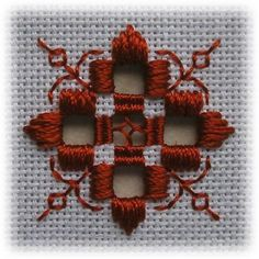 Risultato immagine per Free Hardanger Patterns Christmas Types Of Embroidery, Learn Embroidery, Embroidery Patterns, Hand Embroidery, Doily Patterns, Loom Patterns, Dress Patterns, Hardanger Embroidery, Cross Stitch Embroidery
