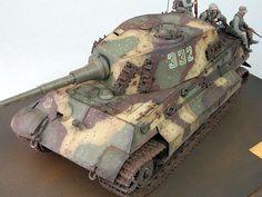 Tiger II, Ardennes 1944 by Gary Millias (Tamiya 1/35)