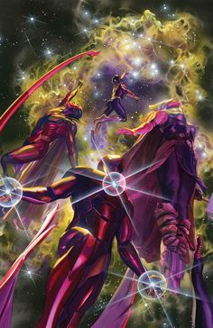 ALL-NEW, ALL-DIFFERENT AVENGERS #10 MARK WAID (W) • MAHMUD ASRAR (A) Cover by ALEX ROSS