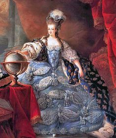 Marie Antoinette in her coronation robes. Louis-Auguste was crowned King Louis XVI of France on 11 June 1775 at the cathedral of Rheims. Marie Antoinette was not crowned alongside him. She merely accompanied him during the coronation ceremony.