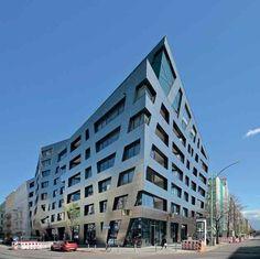 LO ZAFFIRO DI LIBESKIND A BERLINO - IoArch Costruzioni e Impianti, il magazine degli architetti