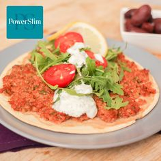 Low Calorie Recipes, Bruschetta, Vegetable Pizza, Tacos, Low Carb, Lunch, Vegetables, Ethnic Recipes, Food