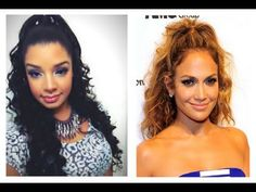 Jennifer Lopez Inspired Hair Tutorial : Half Up / Down Hairstyle : Remington Wand Curls