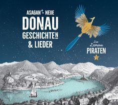 """Das 2. Hörbuch mit neuen Geschichten und Songs von ASAGAN. """"Die Donaupiraten"""" – dieses Mal von der DONAU! Nina und Alfons Bauernfeind haben nicht nur neue zauberhafte Pop-Songs geschrieben und produziert. Sie erzählen die Geschichte von Löwenherz, den Blondes mit Hilfe der Donaupiraten und der Donaunixe findet und feiert. """"Die Donaupiraten"""" gibt es auch live als Lese-Konzert. #asagan #wien #kinderbücher #diedonaupiraten #geschichtenerzählen #donau #hörbuch #geschichtenimkopf #lieder Preschool Songs, Music For Kids, Top Movies, Nursery Rhymes, Singing, Cd Online, Anime, Movie Posters, Duration"""