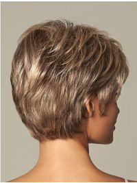 Short Wavy Great Synthetic Wigs - My list of womens hair styles Short Hair With Layers, Short Wavy, Short Hair Cuts For Women, Short Hairstyles For Women, Easy Hairstyles, Pixie Hairstyles, Hairstyle Names, Short Shag, Hairstyles 2016