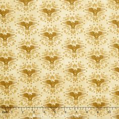 For Love of Country - Eagles Beige Yardage