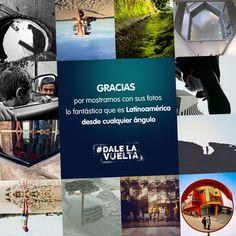 ¡Doce finalistas de diez países distintos ya están en la recta final del #concurso #DaleLaVuelta!  ¡Uno de ellos ganará un fantástico viaje para darle la vuelta a #Latinoamérica! Atentos todos que mañana compartiremos las fotos finales de los finalistas.  #AlcatelOnetouch #Alcatel #IDOL3 #Fotografía #Viaje