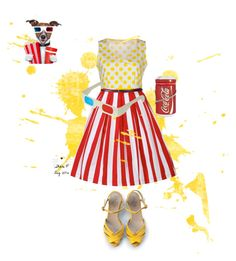 """Hot Buttered Popcorn"" by sheric62 ❤ liked on Polyvore featuring Blugirl Folies"