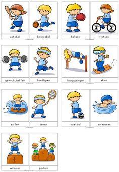 Sport en spel downloads » Juf Sanne