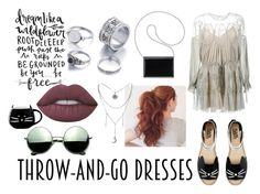"""""""."""" by annalrussell ❤ liked on Polyvore featuring Chloé, Karl Lagerfeld, Nine West, Lime Crime and Revo"""
