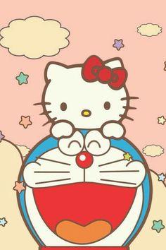 Doraemon & Hello Kitty