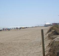 Playa de Urbasur en Islantilla - Isla Cristina (Huelva).