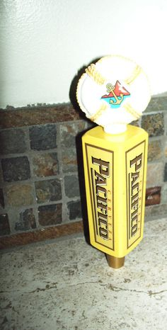 """Pacifico Beer New Tap Handle ...  """"Short"""" 7 1/2"""" Tall"""