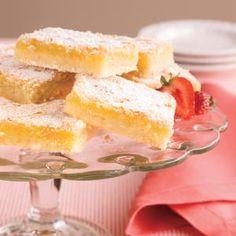 Luscious Lemon Bars Recipe | MyRecipes.com