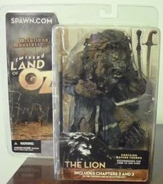 TODD MCFARLANE'S MONSTERS SERIES 2 TWISTED LAND OF OZ THE LION NEW