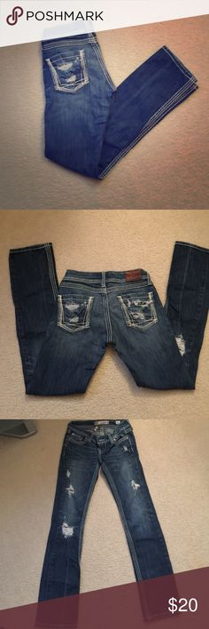 BKE Jeans Selling BKE straight leg Stella jeans size 25. In perfect condition! Open to offers BKE Jeans Straight Leg