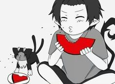 Kuro and Rin - Blue Exorcist