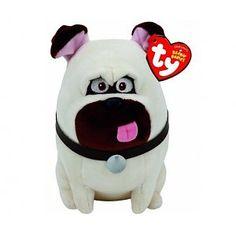 Mel Pug, de hond uit Secret Life of Pets, Beanie TY