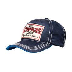Bellissimo Cappellino Baseball Unisex by West Coast Choppers, misura nella taglia unica con cinturino regolabile e disegno ricamato. Modello: Heritage Hat.   29.00 €