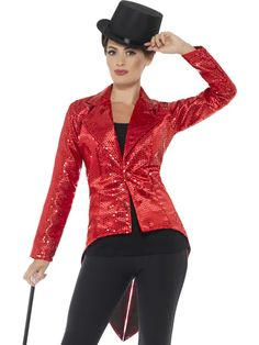 Glamour Party, Traje Slim Fit, Ringmaster Costume, Sequin Jacket, Frack, Dress Picture, Costume Accessories, Party Accessories, Fancy Dress