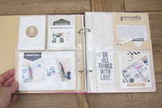 Lovely Snap binder by Carly Robertson