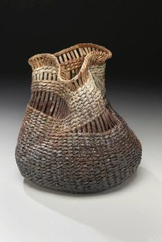 Contemporary Basket | Found on contemporarybasketry.blogspot.co.uk