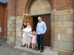 Daniella, Martin med Thea og dåbsbarn Silke