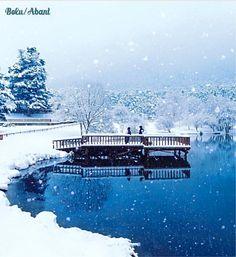 土耳其冬景之美:博魯阿邦特湖區。 ©cumacevikphoto