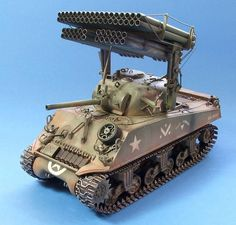 M4A3 Sherman with Calliope Rocket Launcher (USA)
