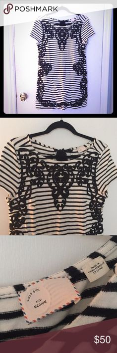 Heavy weight tunic Beautiful anthropologie tunic. Worn once! Price is very negotiable! Anthropologie Tops Tunics