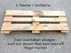 Building furniture from pallets - instructions - Haus & Garten - İdeen